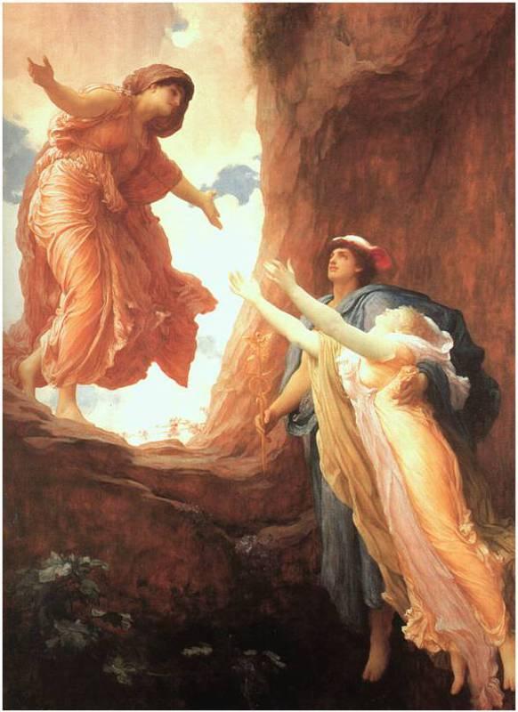 Demeter and Persephone reunion