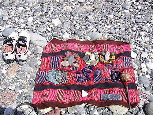 鞋與MESA包,還有朋友的神聖物品