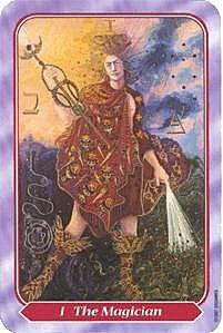 《塔羅命數》系列之1 號牌魔法師