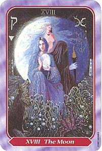《塔羅命數》系列之18號牌 月亮