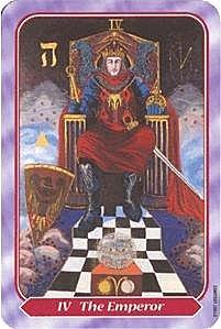 《塔羅命數》系列之4號牌皇帝