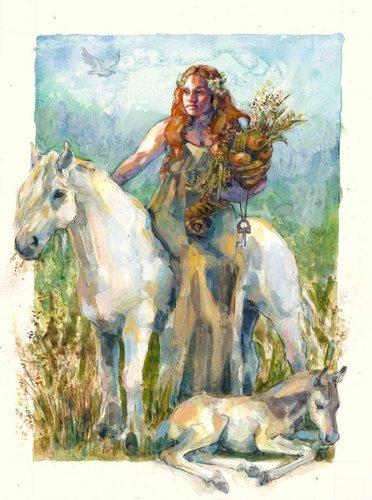 ESABTS滿月聚會-七月公鹿橡樹月EPONA白馬海洋女神