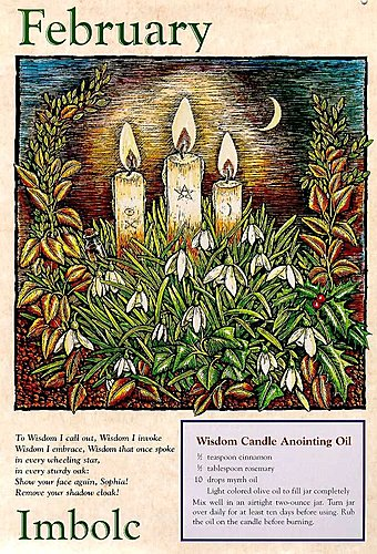 SABBATS巫師手抄-Imbolc光明聖燭節