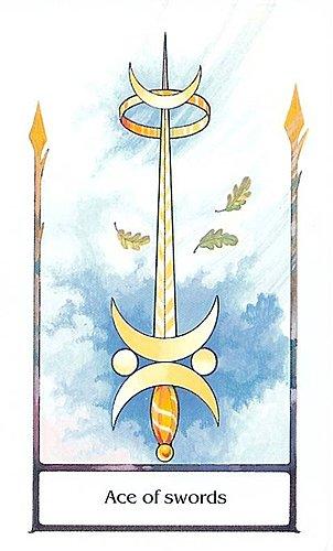 古徑塔羅小牌旅程之寶劍主牌