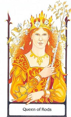 古徑塔羅小牌旅程之權杖皇后