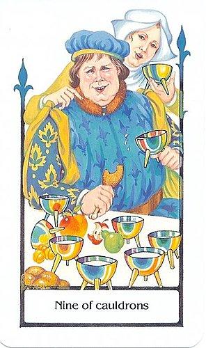 古徑塔羅小牌旅程之聖杯九