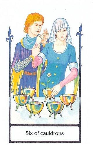 古徑塔羅小牌旅程之聖杯六