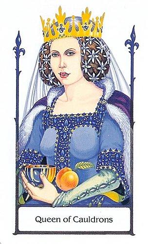 古徑塔羅小牌旅程之聖杯皇后