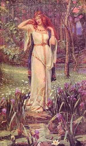 ESABTS新月聖石圈-12月土耳其石與芙蕾雅FREYA女神