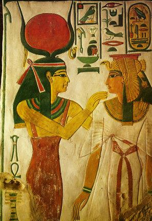 ESABTS新月聖石圈-4月粉晶與哈托爾HATHOR女神