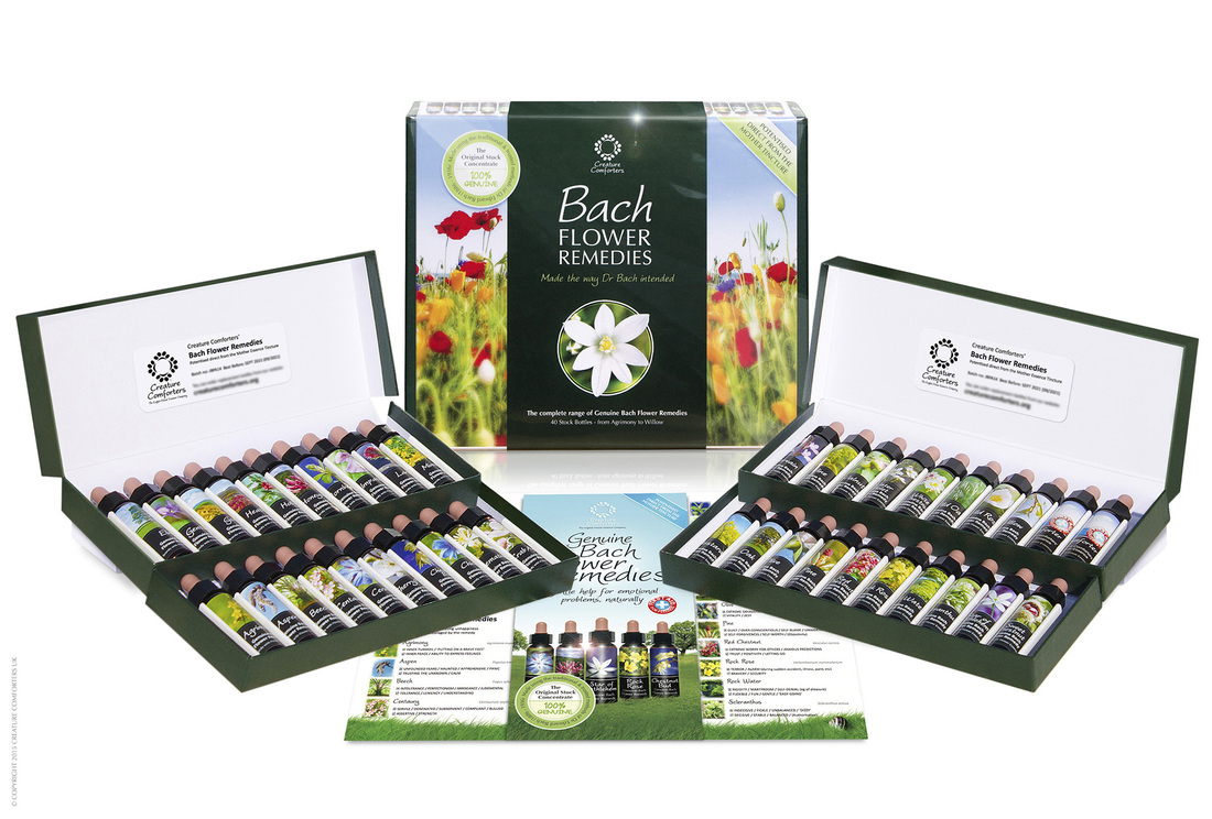 Bach Flower Essence complete set