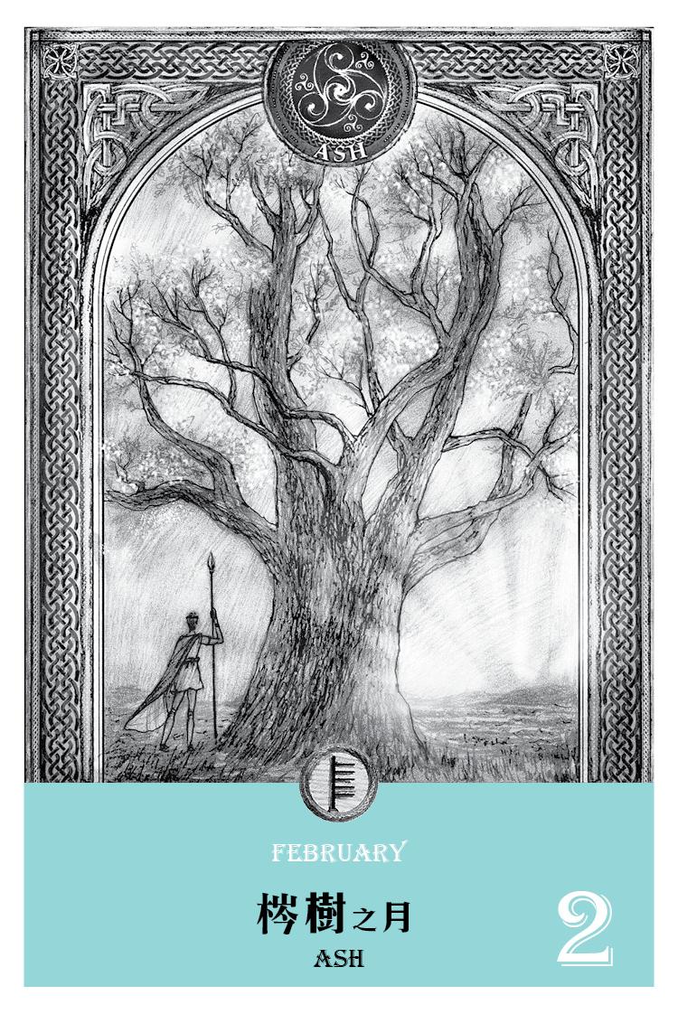 【魔法手帳誌】2016年2月‧梣樹月  2/18-3/17