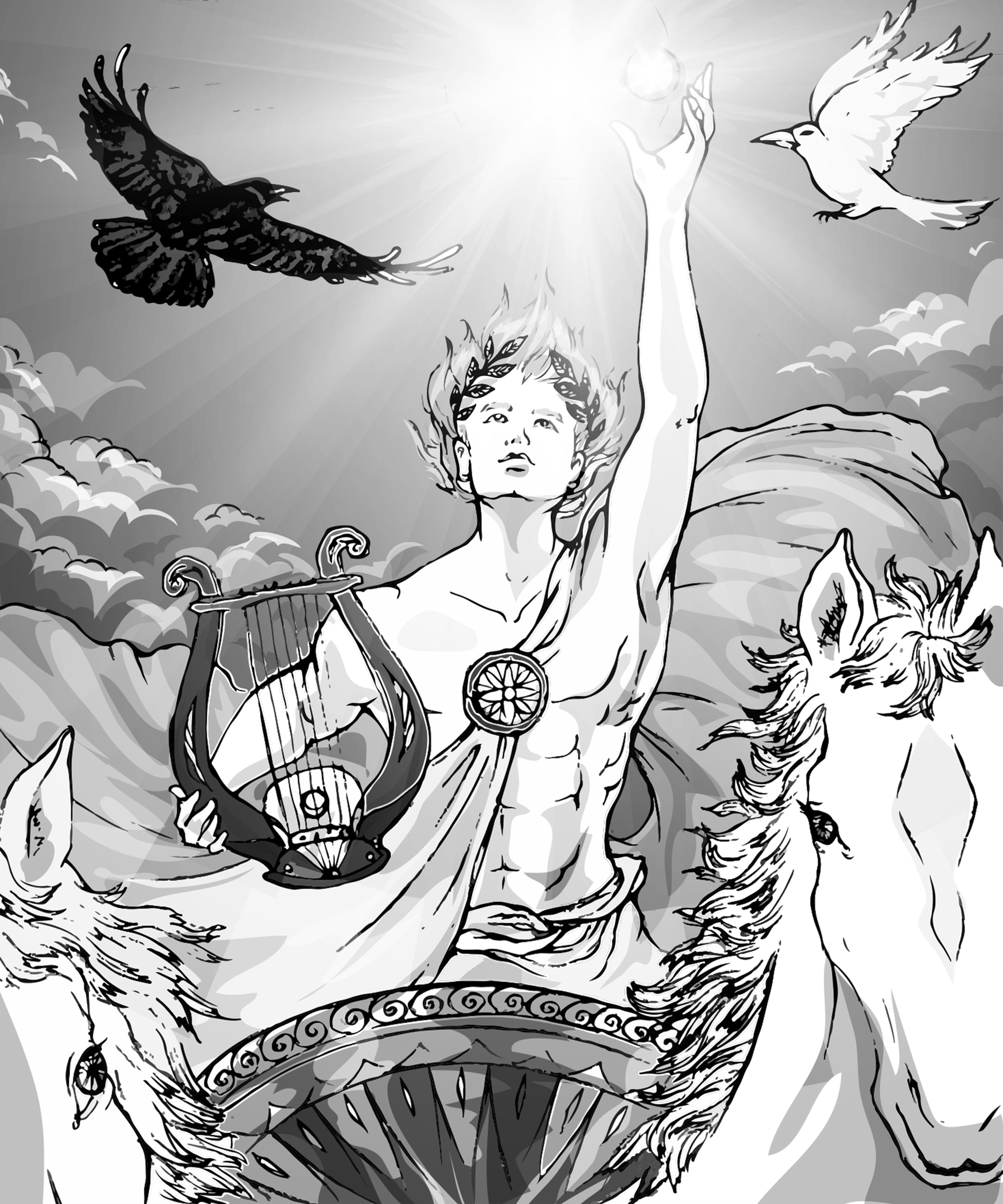 【魔法手帳誌】2017年8月‧希臘太陽神⊕阿波羅 Apollo