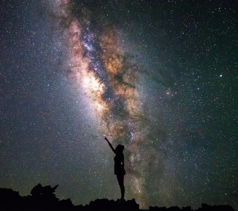 seeing milky way stars