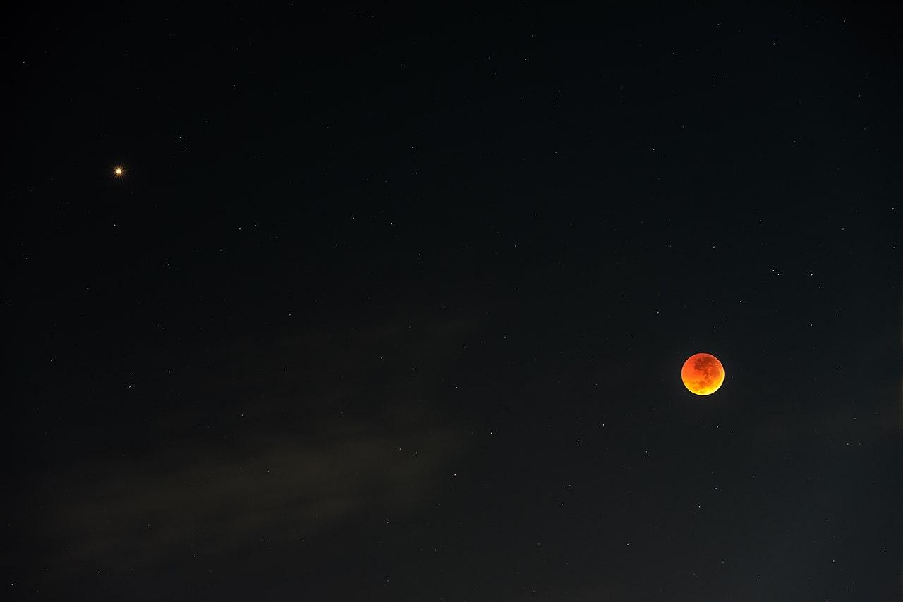 21世紀最長月食&月火合相的提醒