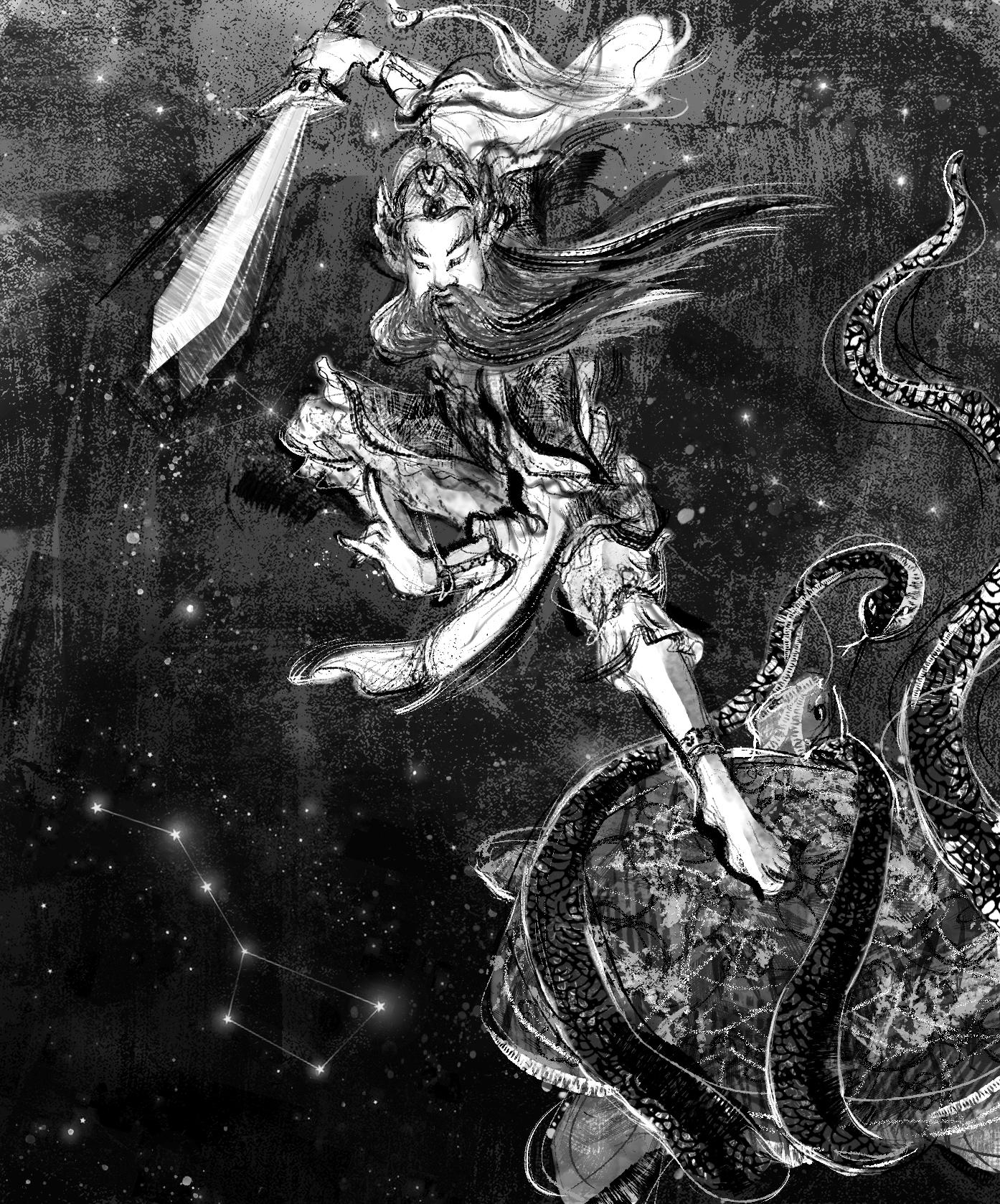 【魔法手帳誌】2019年4月‧剛正不阿的蕩魔天尊.玄天上帝