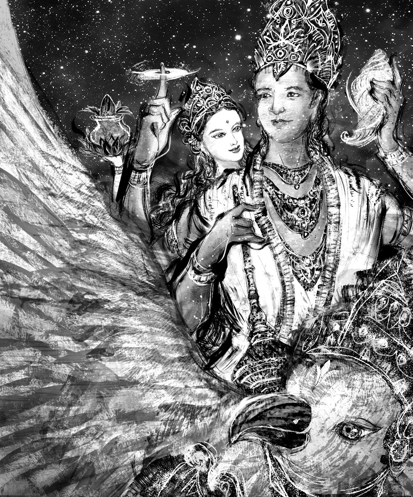 【魔法手帳誌】2019年8月‧印度守護之神.毗濕奴