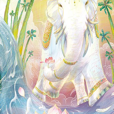 【巫日書】2020年4月‧專注與智慧的仁王.瑞象