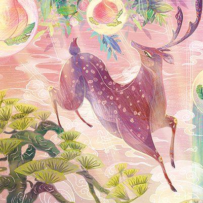 【巫日書】2020年6月‧森林與魔法的精靈.聖鹿