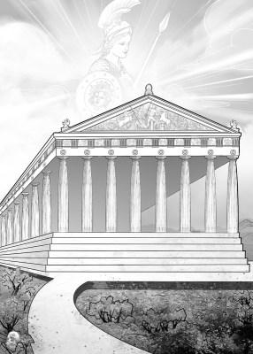 【巫日書】2021年3月|希臘.帕德嫩神廟