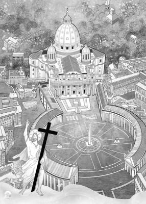 【巫日書】2021年4月|義大利.梵蒂岡 Vatican